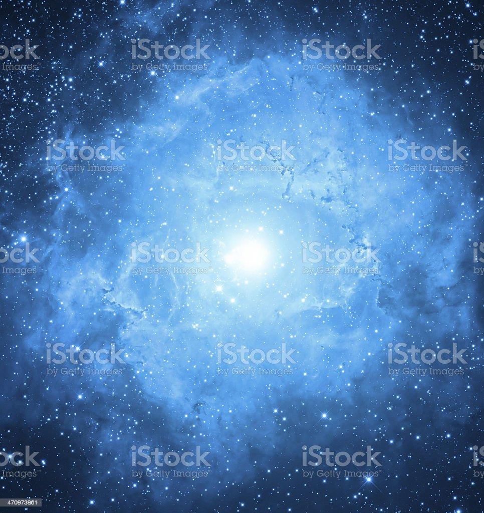 Eye Nebula stock photo