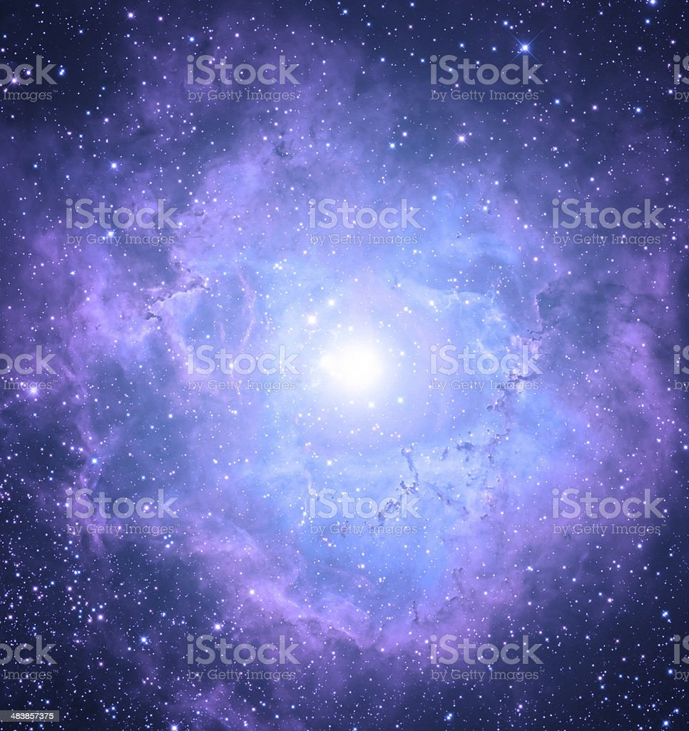 Eye Nebula stock photo