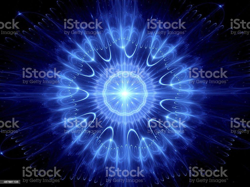 Eye of God royalty-free stock photo