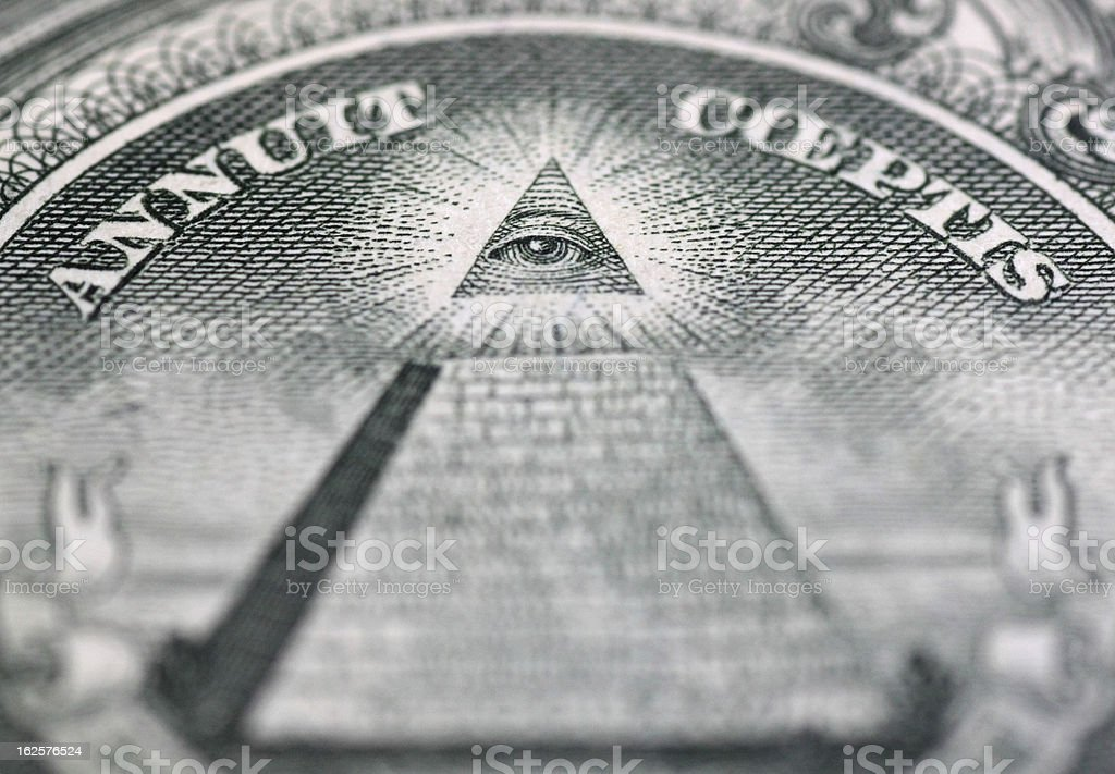 Eye of Providence stock photo
