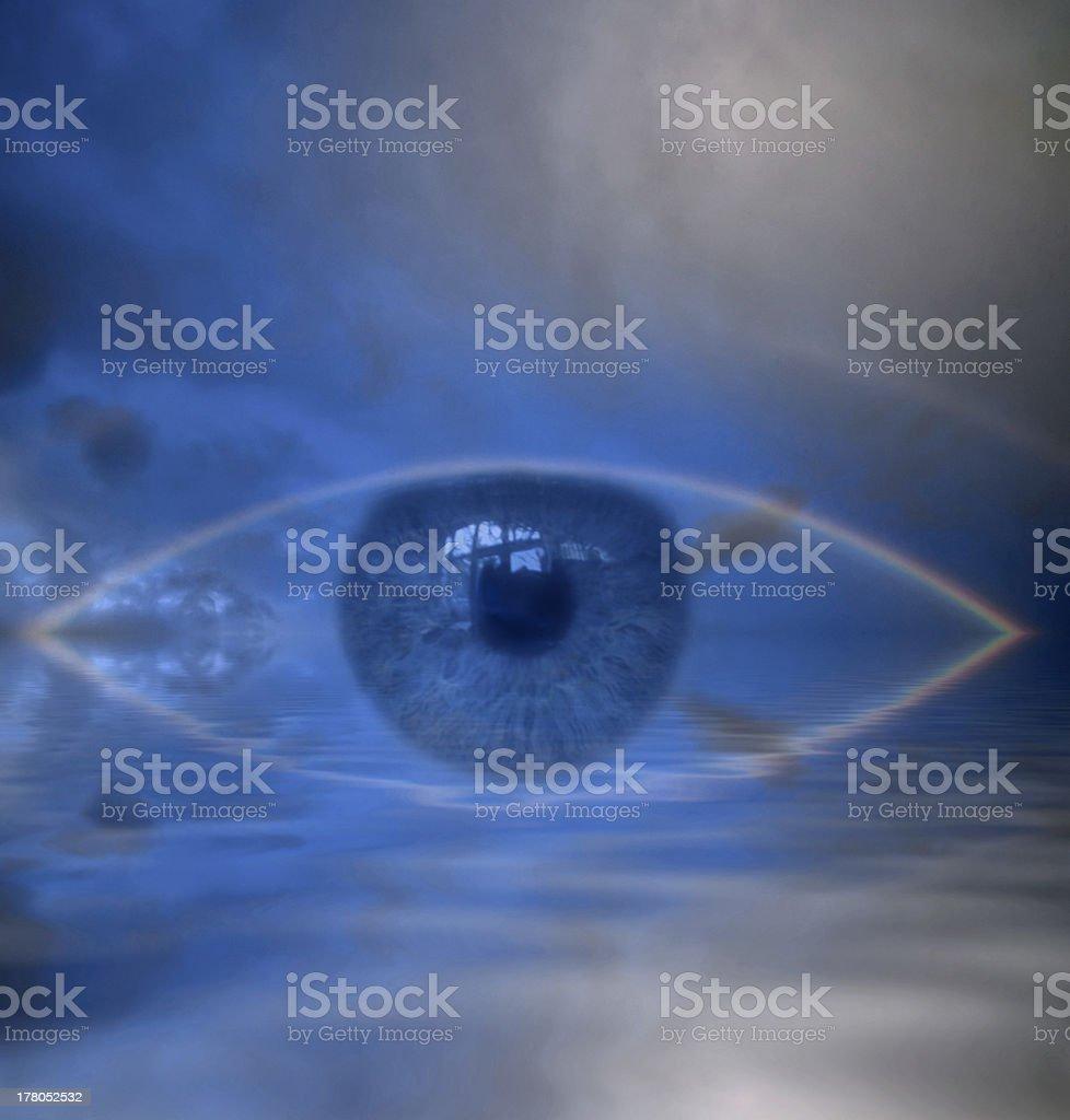 Eye of Providence stock photo
