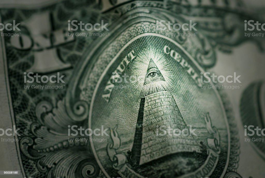 Eye of the Pyramid stock photo