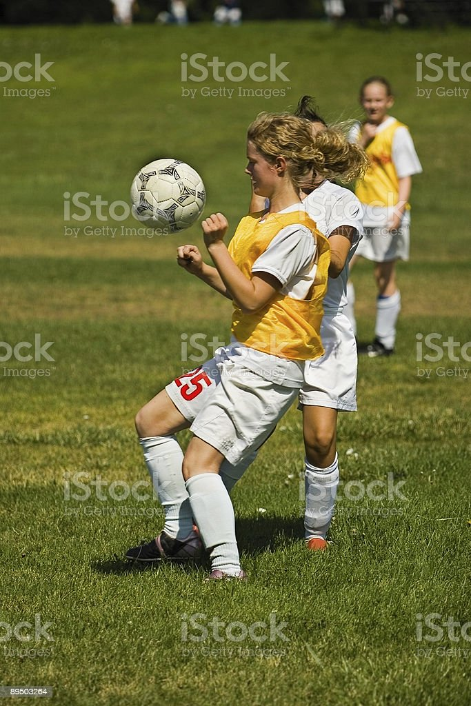 Eye on the Ball royalty-free stock photo