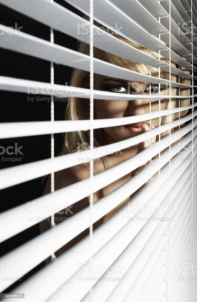 Eye on you stock photo