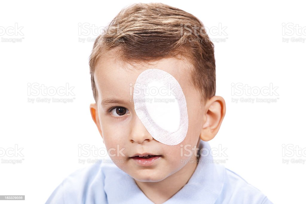 Eye Patch stock photo