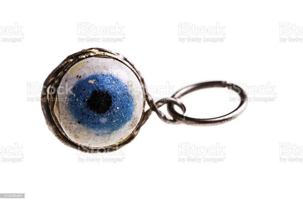 Eye pendant stock photo