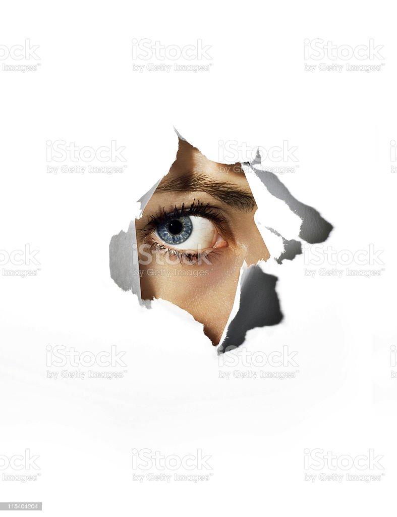 eye stock photo