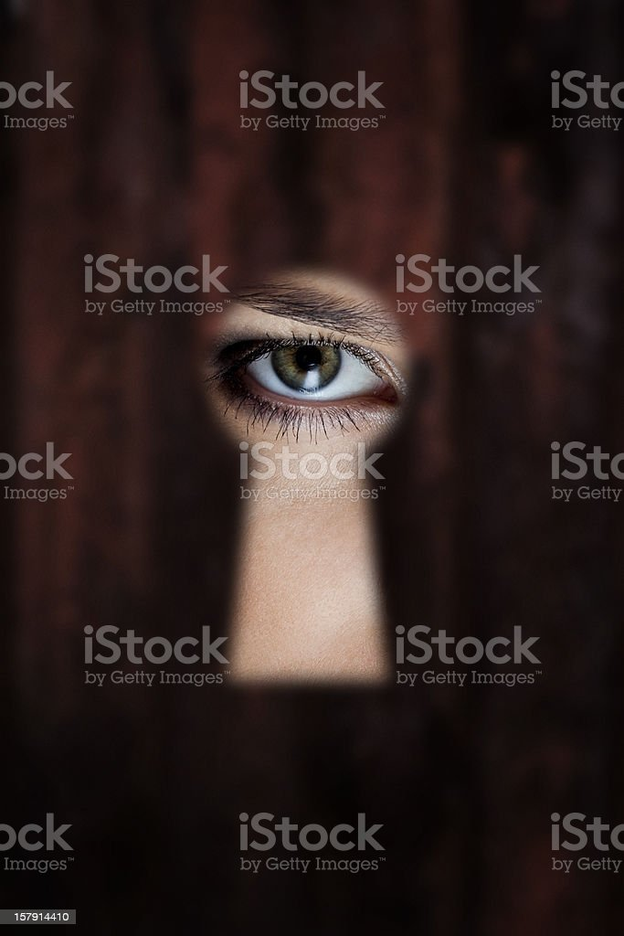 Eye stock photo