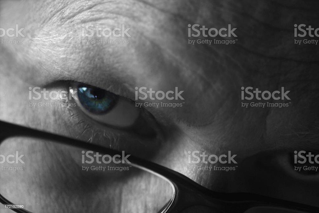 eye royalty-free stock photo