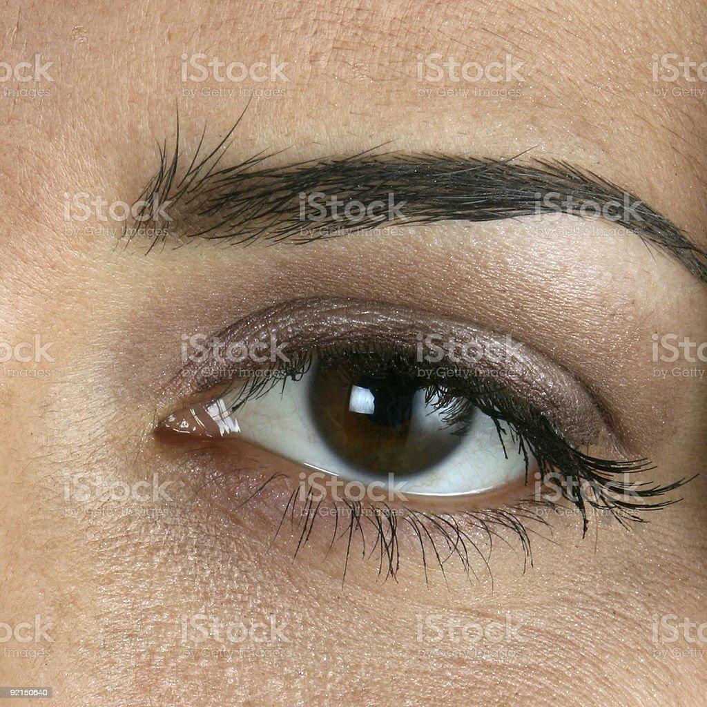 Eye see you stock photo