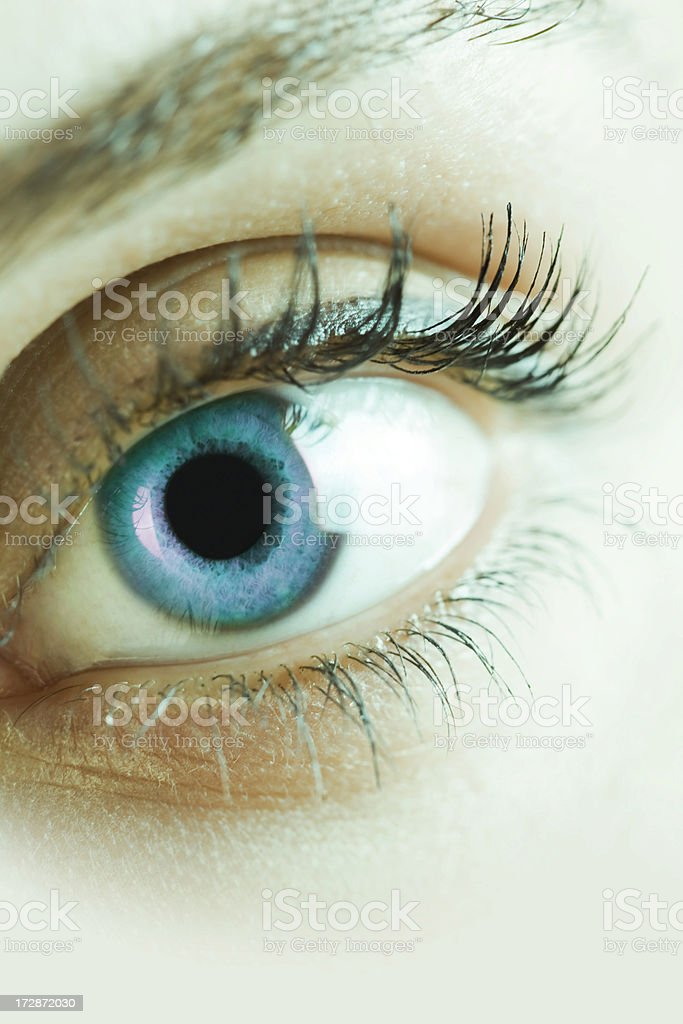 Eye series royalty-free stock photo