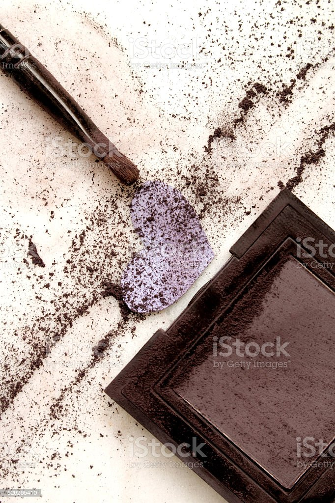 Eye shadow stock photo