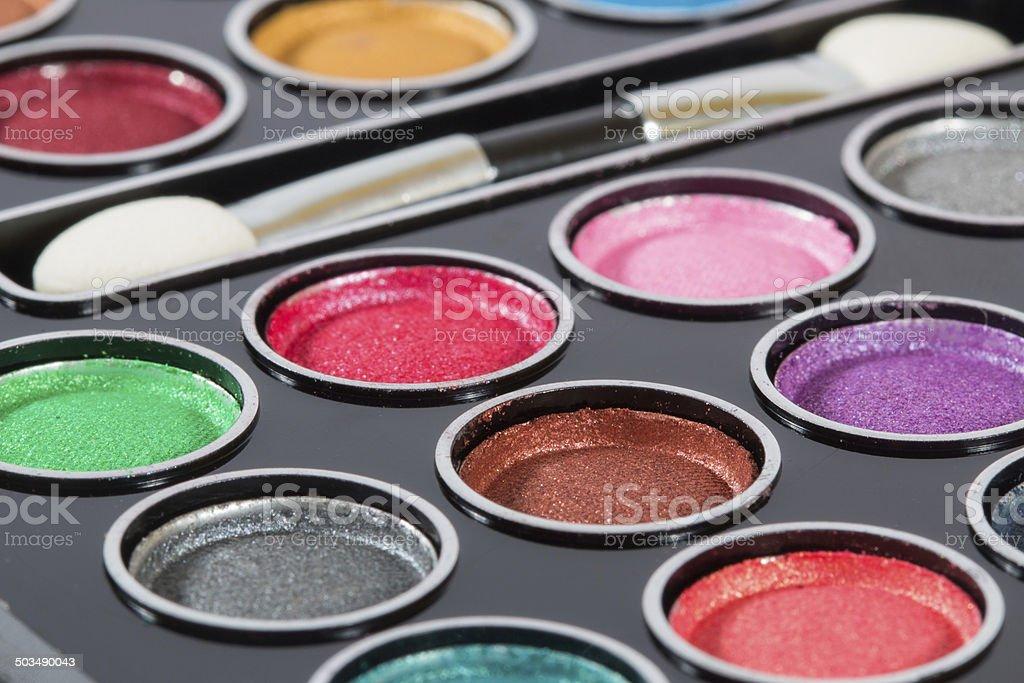 eye shadows royalty-free stock photo