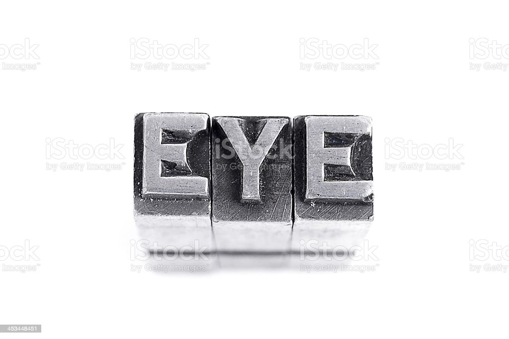 Eye Sign royalty-free stock photo