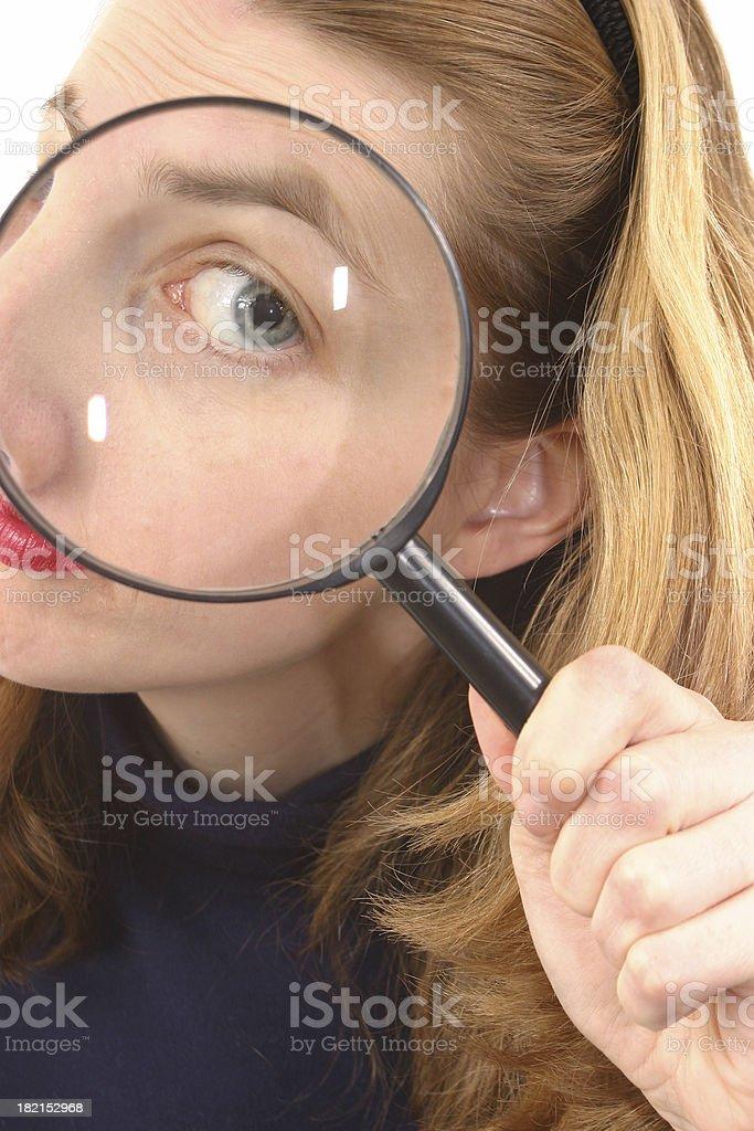 Eye Spy 2 royalty-free stock photo