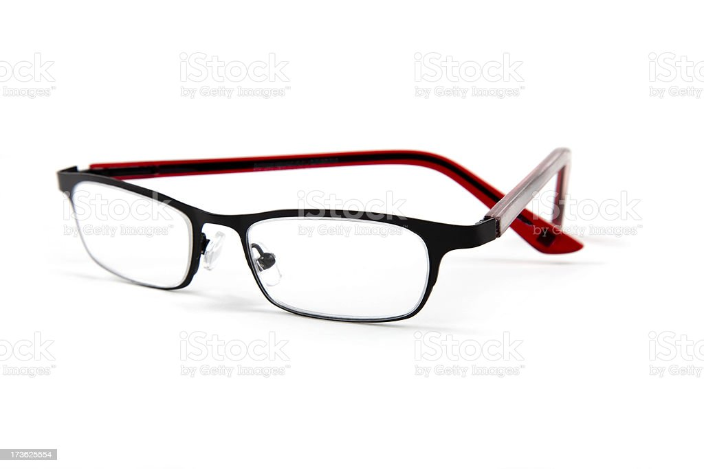 Eye wear isolated on white royalty-free stock photo