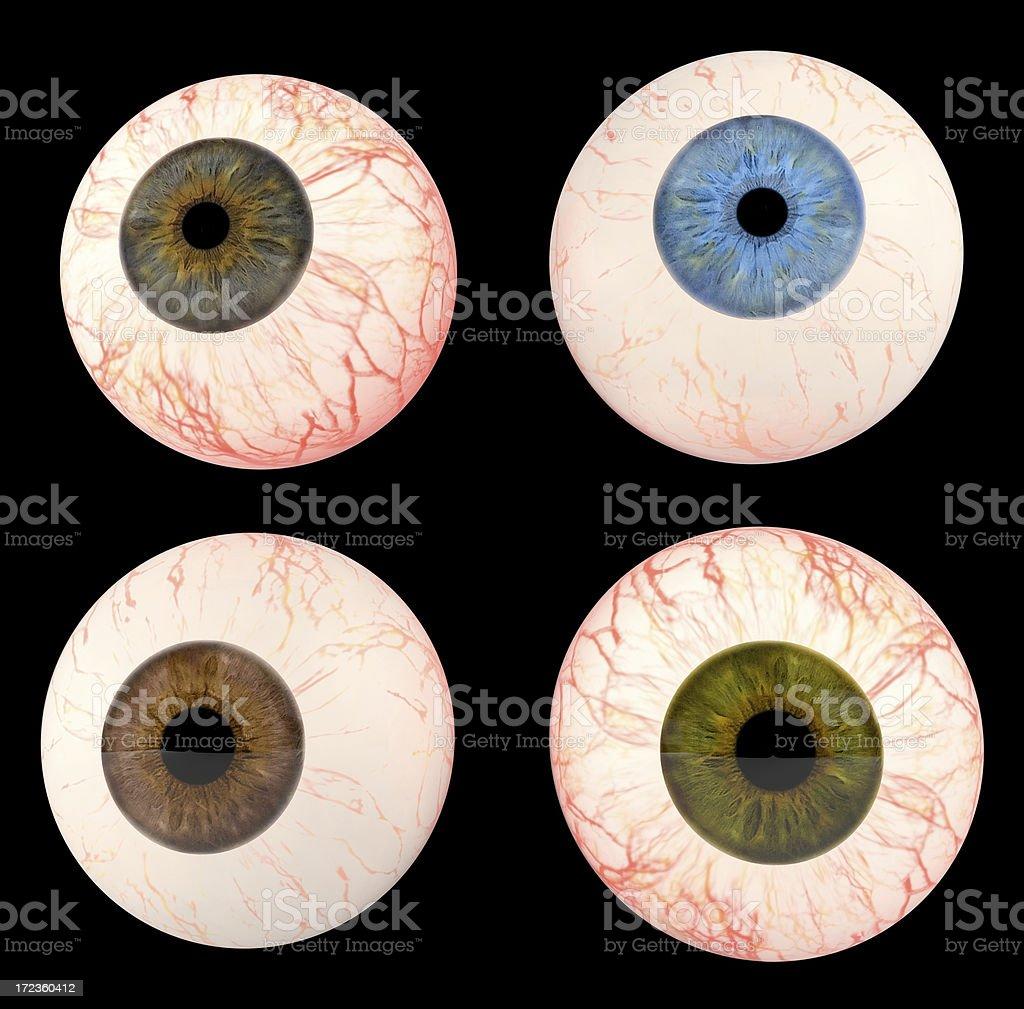 Eyeballs stock photo