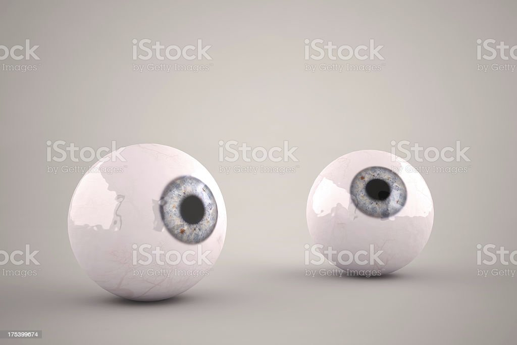 Eyeballs Rolling stock photo