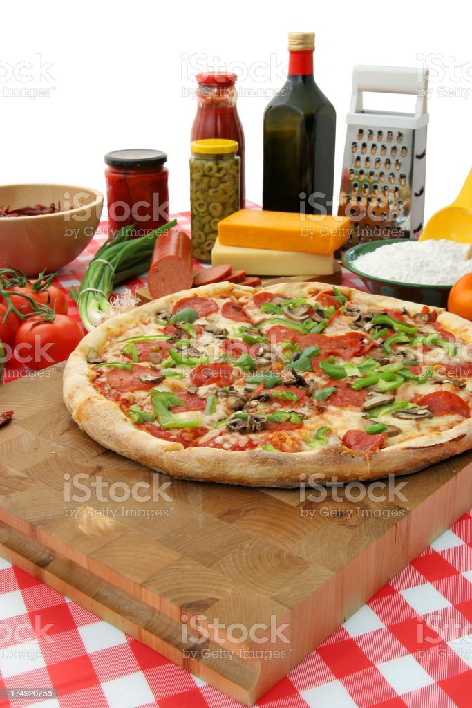 EyeCandy for pizza lovers 1.6 royalty-free stock photo