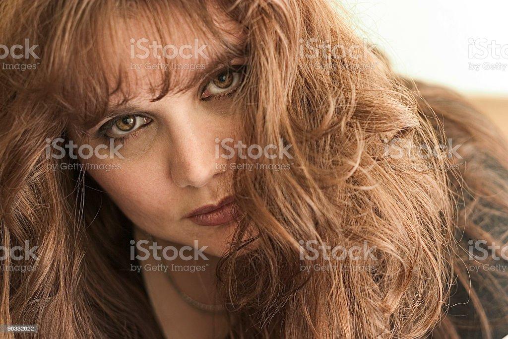 Eyecontact stock photo