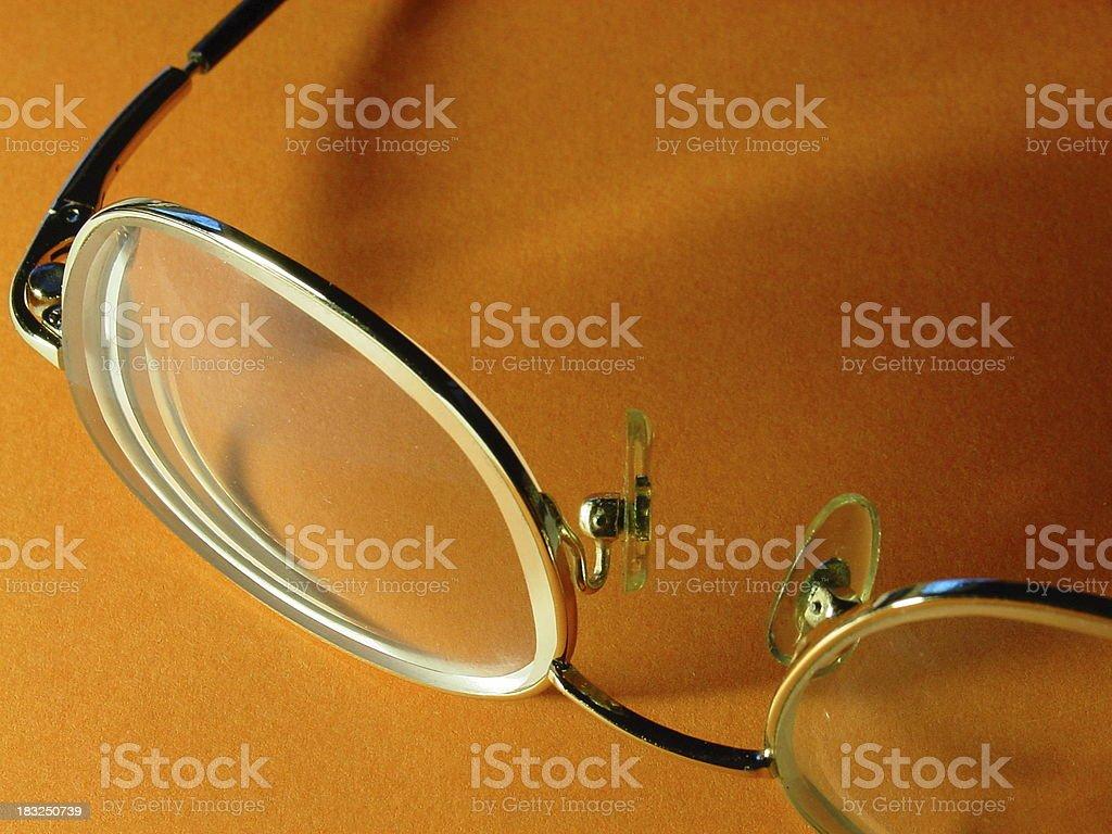 Eyeglass 2 royalty-free stock photo