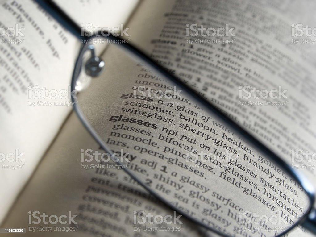 Eyeglasses royalty-free stock photo