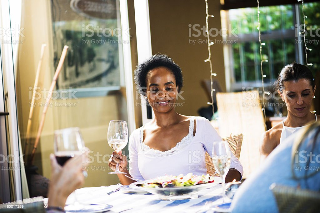Eyeing The Dinner royalty-free stock photo
