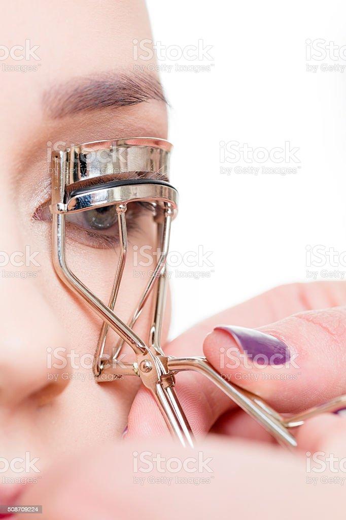 Eyelash curlers stock photo