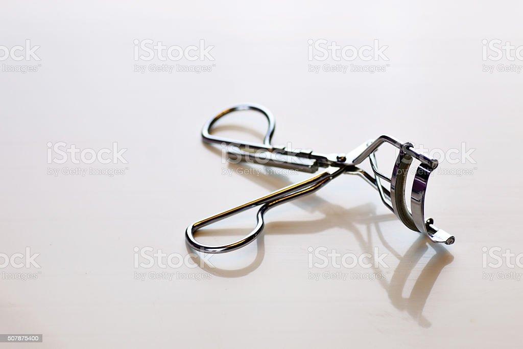 eyelashes tools stock photo