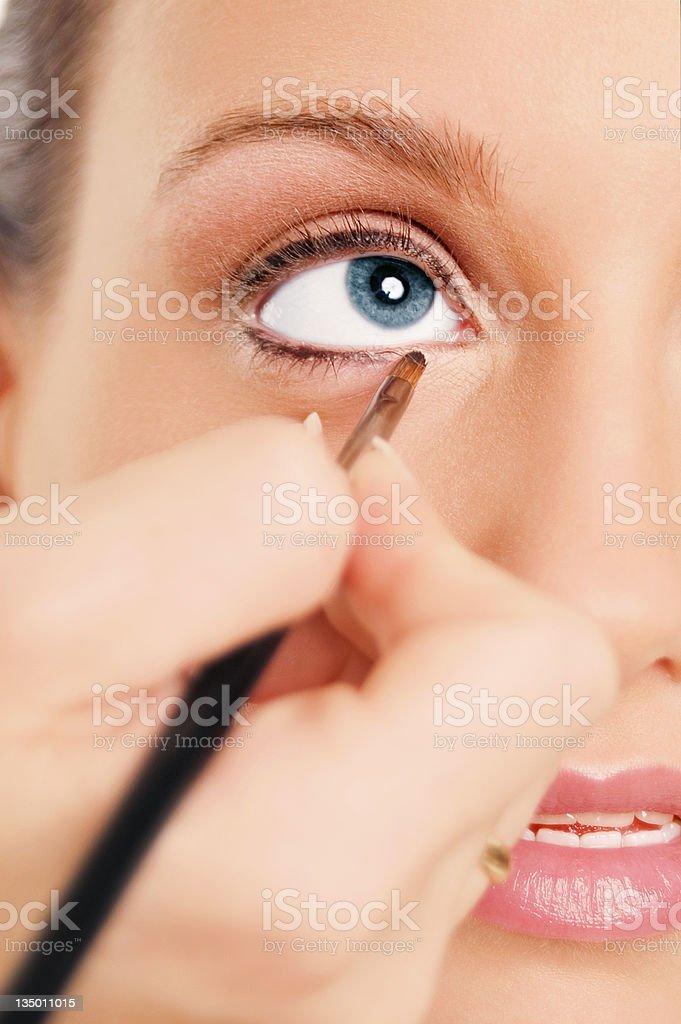 Eyeliner royalty-free stock photo
