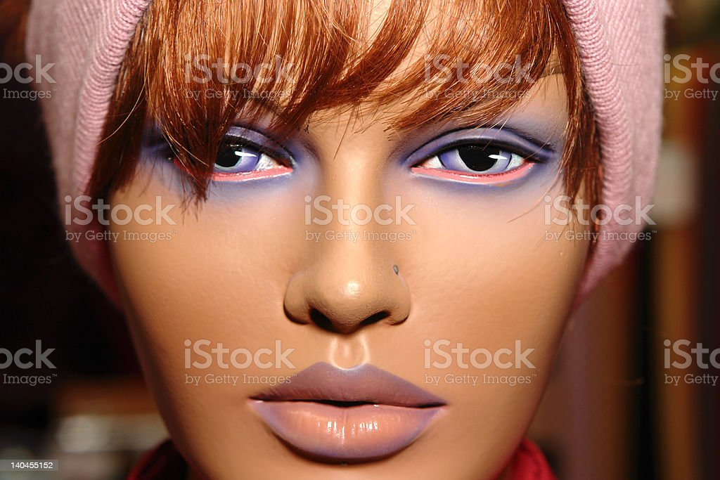 eyes and lips royalty-free stock photo