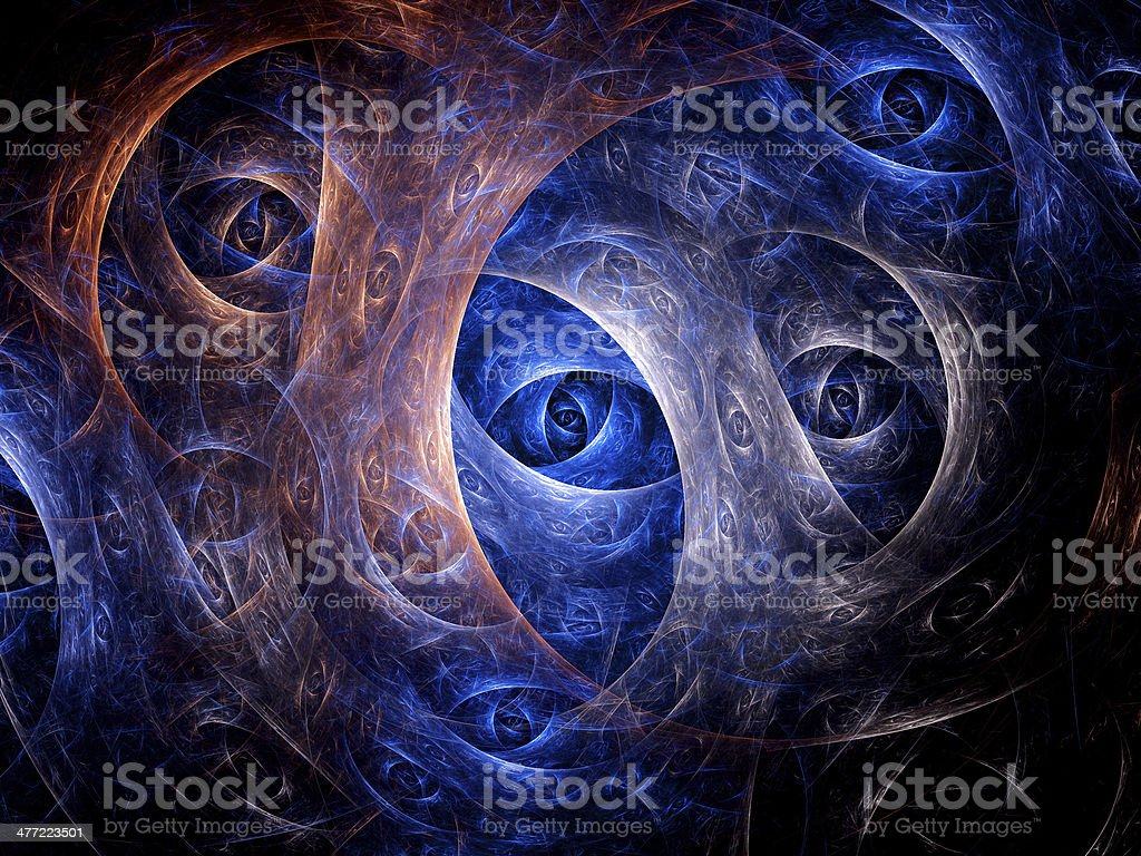 Eyes of dimensions royalty-free stock vector art