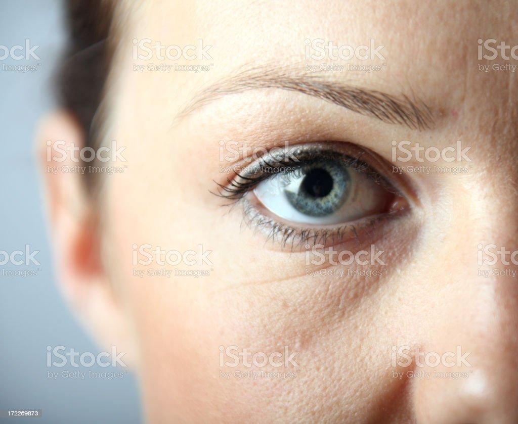 eyes royalty-free stock photo