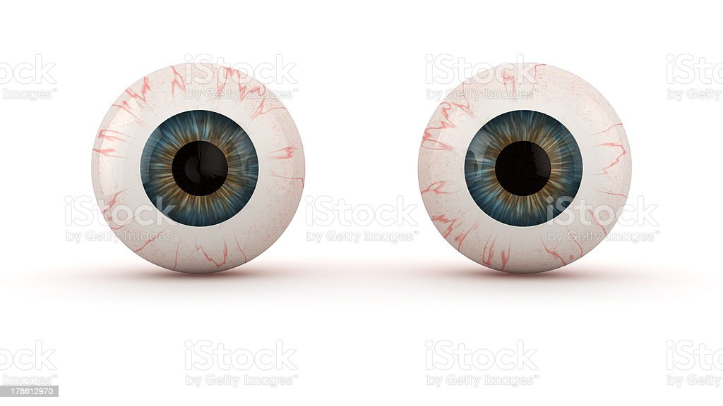 Eyes stock photo