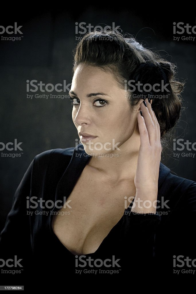 eyes that kills royalty-free stock photo