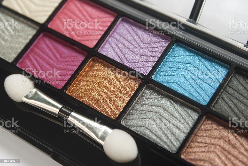 Eyeshadow colors stock photo