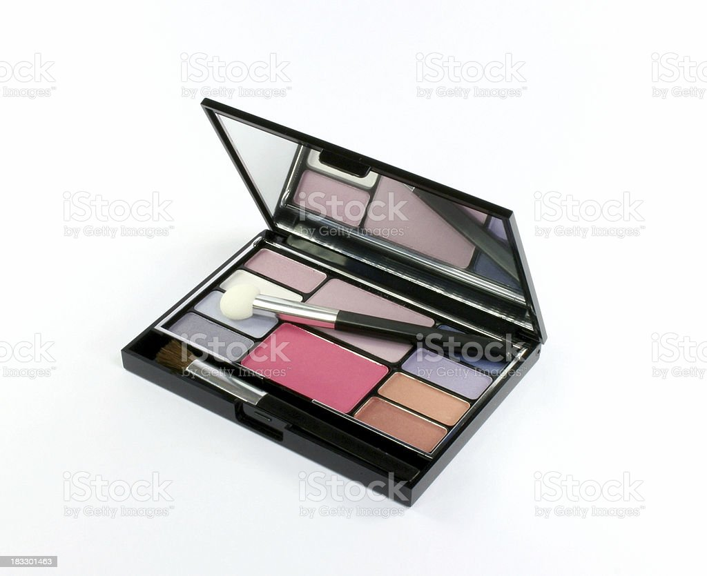 eyeshadow compact royalty-free stock photo