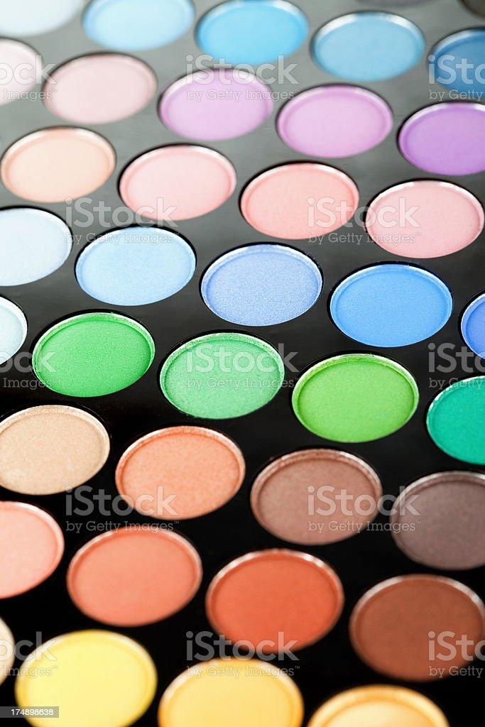 Eyeshadow Palette royalty-free stock photo