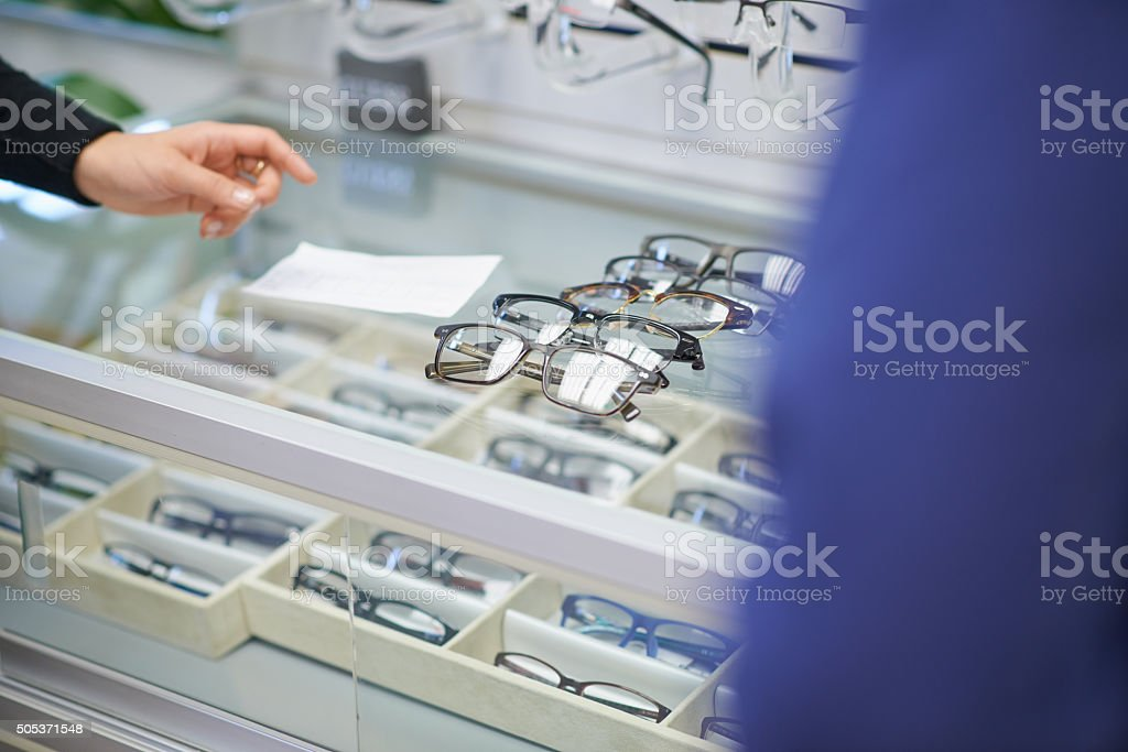 Eyewear for your eye care stock photo