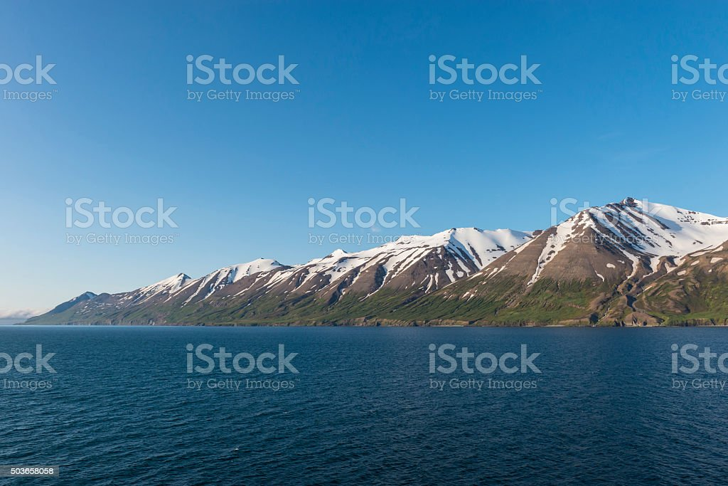 Eyjafjörður - Iceland stock photo