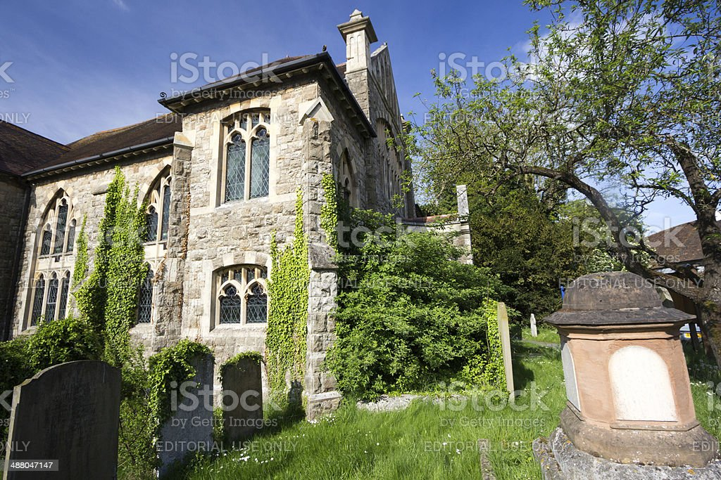 Eynsford Baptist Church in Kent, England stock photo