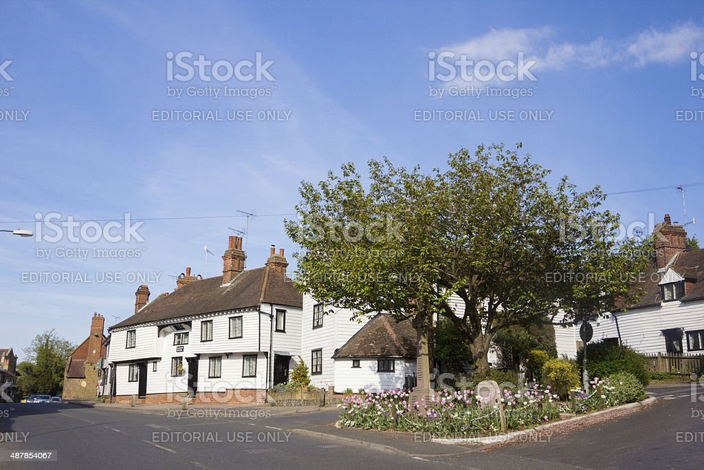 Eynsford in Kent, England stock photo