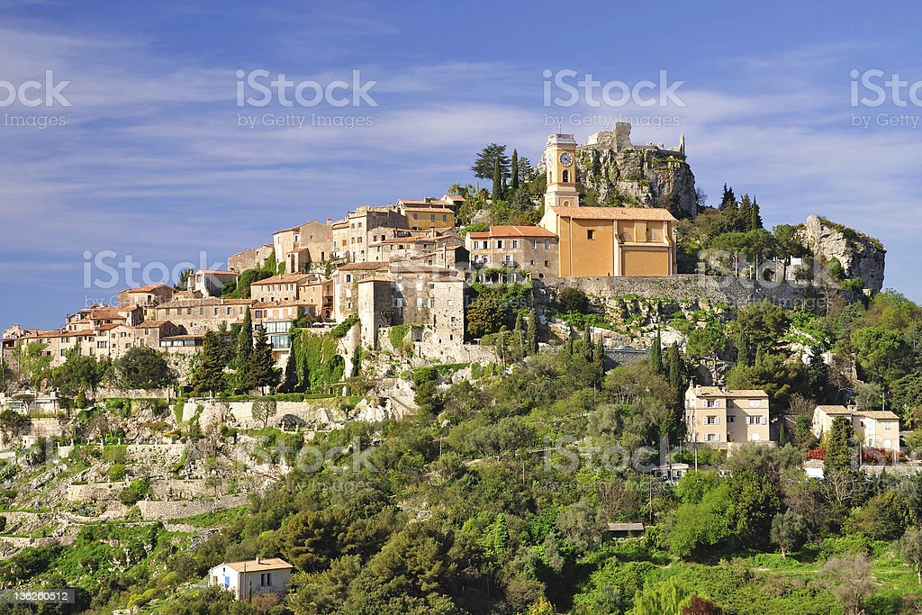Eze,French Riviera royalty-free stock photo