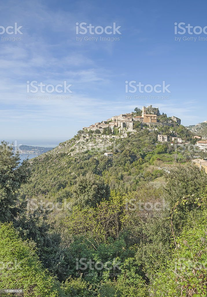 Eze,french Riviera,south of France royalty-free stock photo