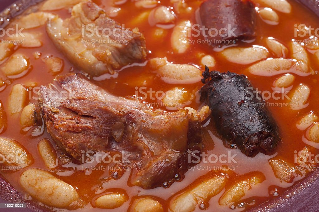 Fabada royalty-free stock photo