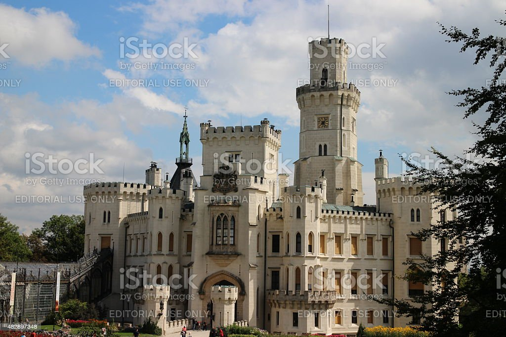 Fable Castle stock photo