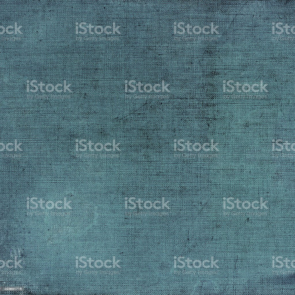 Fabric background with grungy worn and weathered texture stock photo