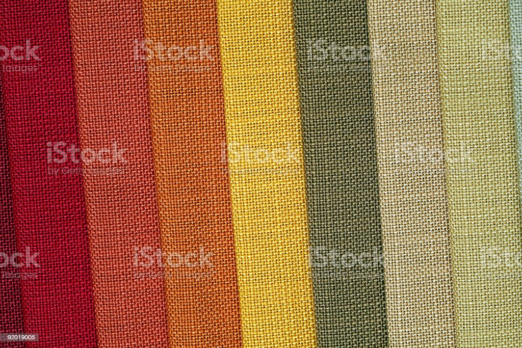 fabric in shop royalty-free stock photo