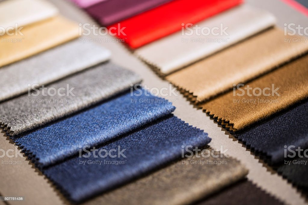 Fabric Samples stock photo