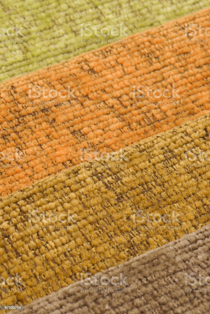 Fabric Samples royalty-free stock photo